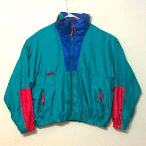 Columbia Intertrainer Green Vintage Jacket Size XL